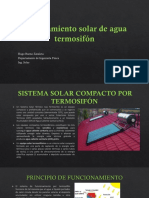 Calentamiento Solar de Agua Termosifón