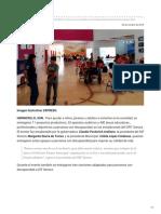 30-10-2018 - Niños, jóvenes y adultos con discapacidad, reciben becas y apoyos para proyectos productivos - Expreso