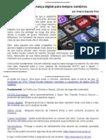 Um Manual de Segurança Digital Para Tempos Sombrios