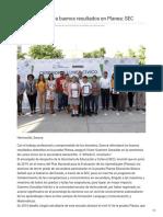 30-10-2018 - Refrendará Sonora Buenos Resultados en Planea SEC - Nuevodia