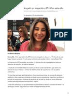 30-10-2018 - DIF Sonora Ha Entregado en Adopción a 29 Niños Este Año - Uniradionoticias