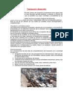 Resumen Del Transporte en Las Ciudades Del Perú Copia