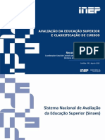 Avaliacao Da Educacao Superior e Classificacao de Cursos