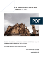 La Catedral de Jerez de La Frontera. Una Obra Inacabada