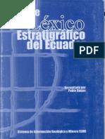 l Xico Estratigr Fico Ecuad