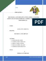 Legislación Ambiental-contaminación Sonora