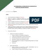 Documentos Que Presentara a La Dirin Pnp en La Rendicion de Cuenta Del Recurso Especial