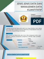 Jenis-jenis Data Dan Manajemen Data Kuantitatif