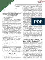 Modifican Los Articulos 76 77 y 102 Del Reglamento de Diver Decreto Supremo n 003 2018 Em 1614917 2