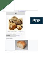 historia del pan de wikipedia