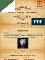 Teoria de Dorothea Orem 24mar18
