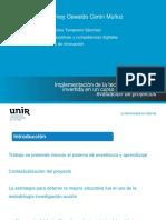Sustentación TFM Implementación Clase Invertida en Formulación y Evaluación de Proyectos