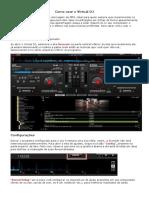 Como Usar o Virtual DJ