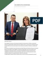 29-10-2018 - Acerca Gobernadora Salud a Los Sonorenses - Nuevodia