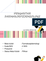 Definisi Dan Dasar Farmakoepidemiologi