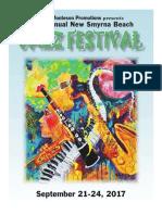 NBSJFESTJazz Fest Program 2017