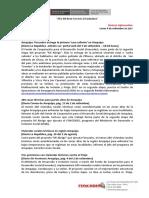 Sintesis Informativa 04-09-2017