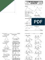 TRIÁNGULOS (Teoremas Fundamentales y Clasificación)