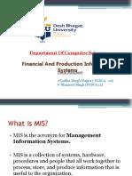 Finacial Info System