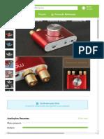 Geek _ Mini Bluetooth Power Amplifier; Stereo Hi-Fi Digital Amp 2.0 Channel 50W×2 with AUX_USB_Bluetooth Input; Wireless Audio Receiver; PC Sound Card