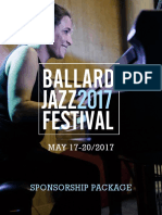 17 Ballard Jazz Festival Sponsorship