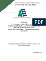 Manual diseño de canales Según  ANA