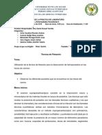 Parasitologia II Segundo Ciclo Informe