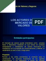 Tema 5 - Actores Del Mercado de Valores