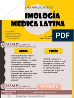 Exposicion Etimologia Latina