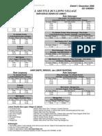Lippo Karawaci External Bus Schedule