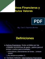 Tema 7 - Los Activos Financieros y Titulos Valores