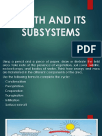 Earth and Its Subsystems
