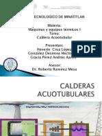 Calderas Acuotubulares Carbon