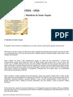 O Manifesto de Santo Ângelo
