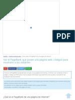 Ver El PageRank Que Posee Una Página Web, Códigos Para Mostrarlo