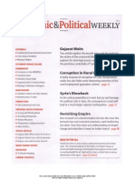 Economic and Political Weekly Vol. 47, No. 8, FEBRUARY 25, 2012