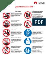 Reglas Absolutas EHS Huawei