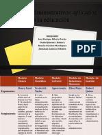 Modelos Administrativos Aplicados a La Educación