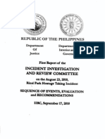 Pages 61-82 of the IIRC Report on the Aug 23 Hostage Taking Incident
