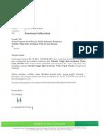 Surat Verifikasi Ijazah WCH