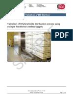 Eto Sterilization Demo Test Report Sample