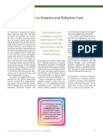 Entrenamiento en Psiquiatria Paliativa