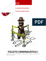 Criminalistica I FOLLETO