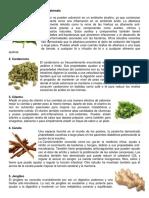 10 Plantas Medicinales de Guatemala