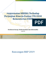 Rapat Penyusunan RKP 2019 Bekasi 6 Apr 2018 Rev