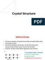 Structure Crystal