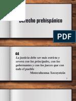 1. Derecho prehispánico