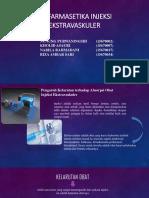 Biofarmasetika Sediaan Injeksi-kel 3