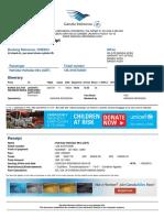Contoh Electronik Tiket Garuda
