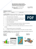 Evaluación Diagnóstica Ofimatica 1